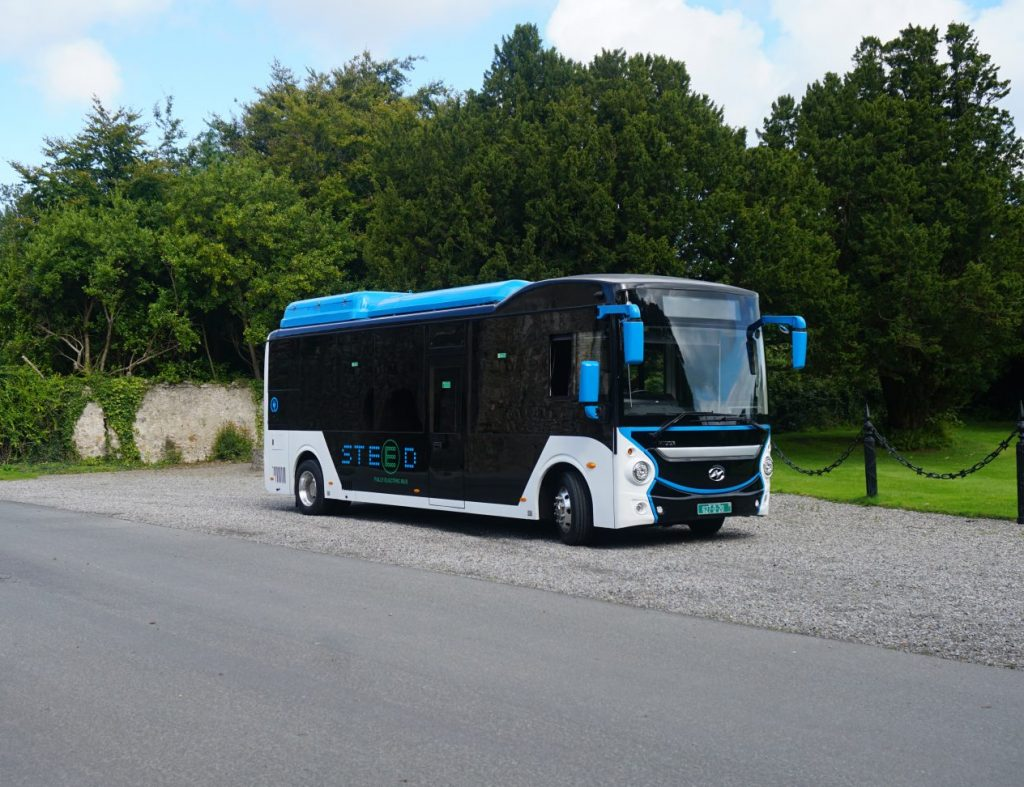 Higer Steed - electric bus Ireland