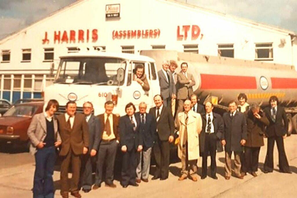 Harris Group History