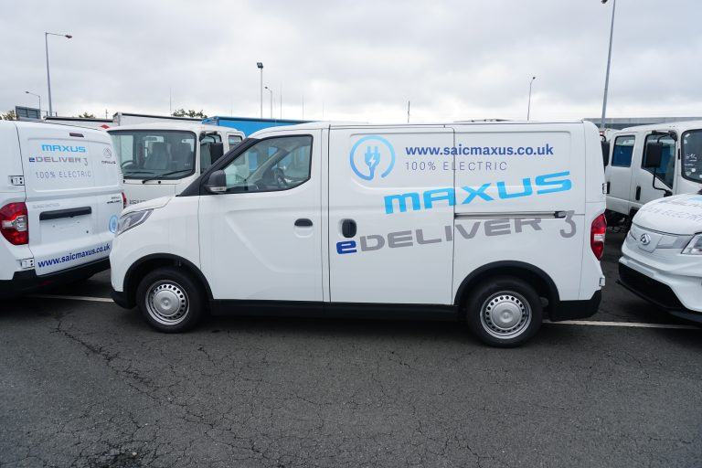 Electric light commercial vehicle - Maxus e Deliver 3