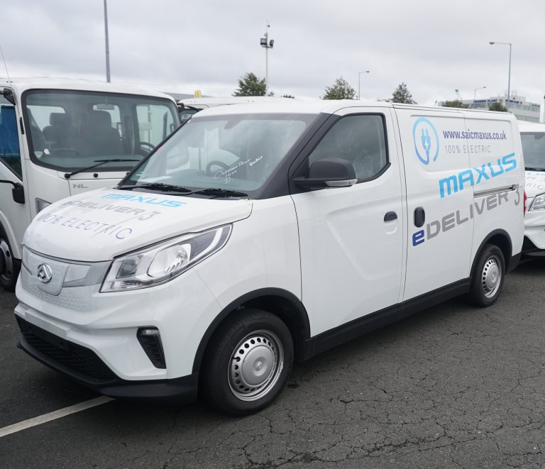 Electric van - Maxus e Deliver 3