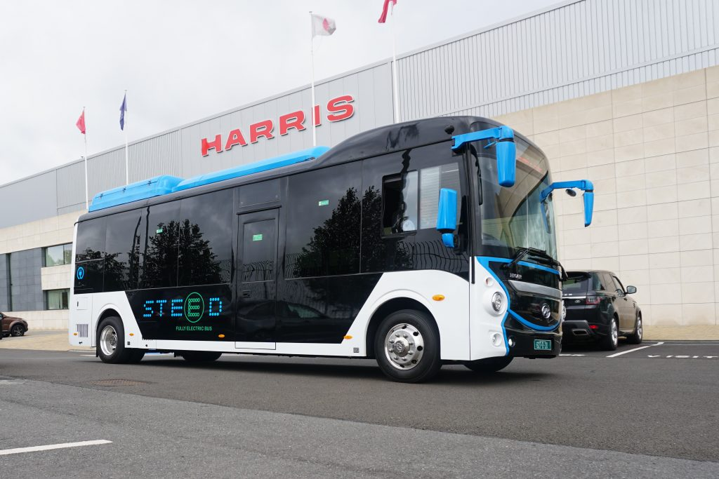 Electric vehicles - Higer STEED electric bus Ireland